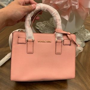 Michael Kors Shoulder Bag Crossbody satchel pink